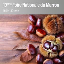 19ème Foire Nationale du Marron à Cuneo - Dimanche 15 octobre 2017